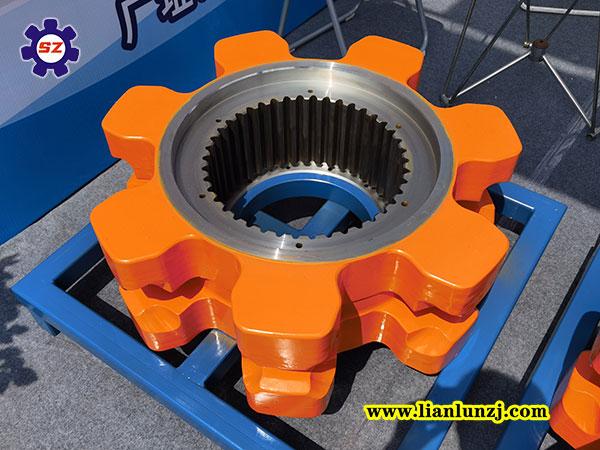 刮板输送机链轮组件链轮体