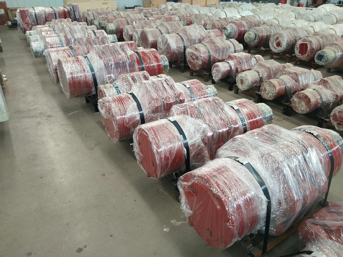 矿业链轮组件