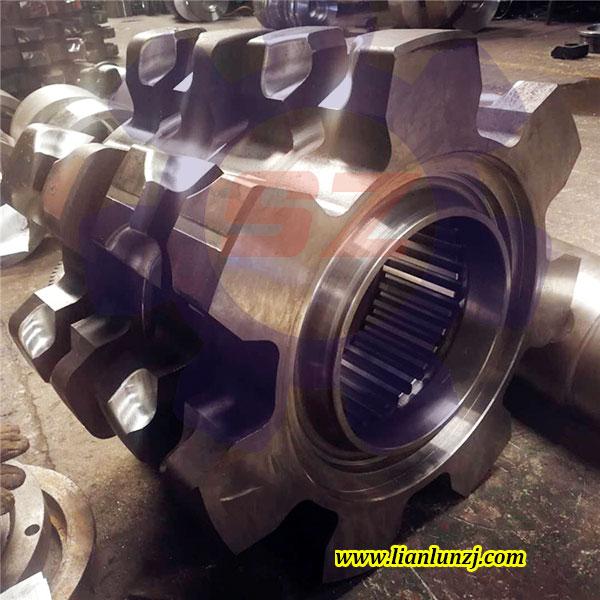 刮板机链轮焊接