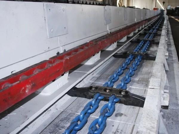 SGZ764机型配套113S刮板顺利通过验收,装机试运行!