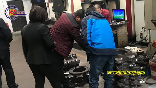 煤机配件客户