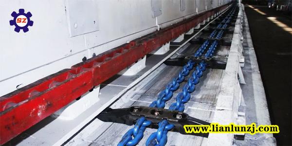 如何更换764刮板机113S011208-1刮板和113S螺栓组成的刮板链