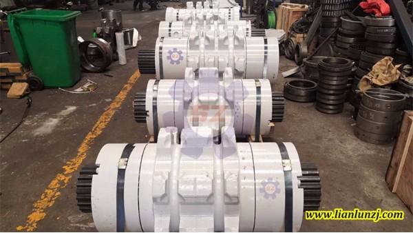 现场验收--80/06LL链轮组件等一批煤机配件合格出厂